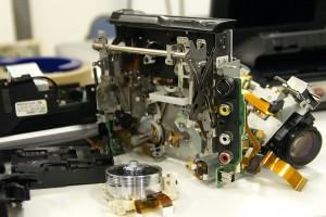 8ミリビデオカメラの修理