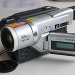 8mmビデオカメラ DCR-TRV120
