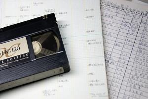 VHSビデオテープ