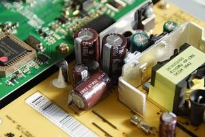 電解コンデンサー交換後