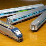 Bachmann HHP-8 with amfleets