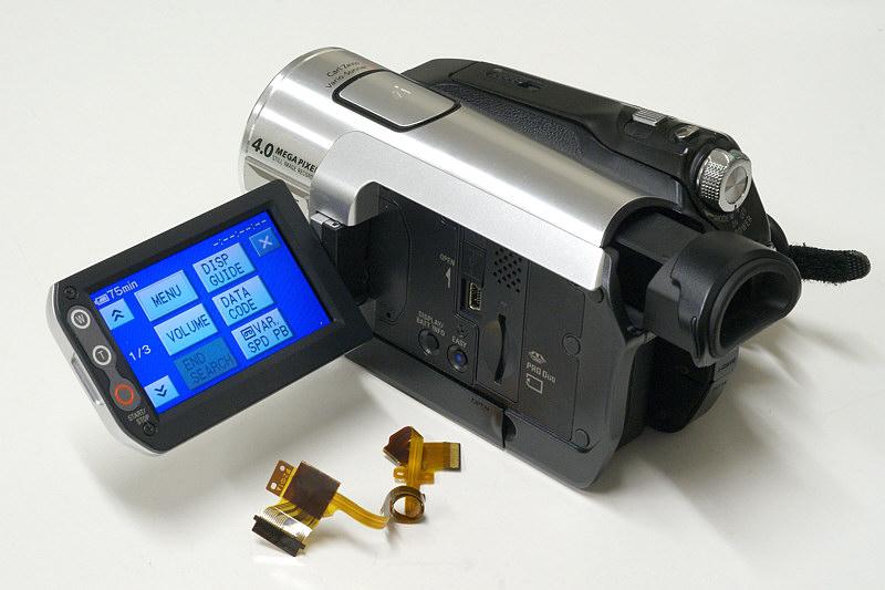 HDVビデオカメラ修理後