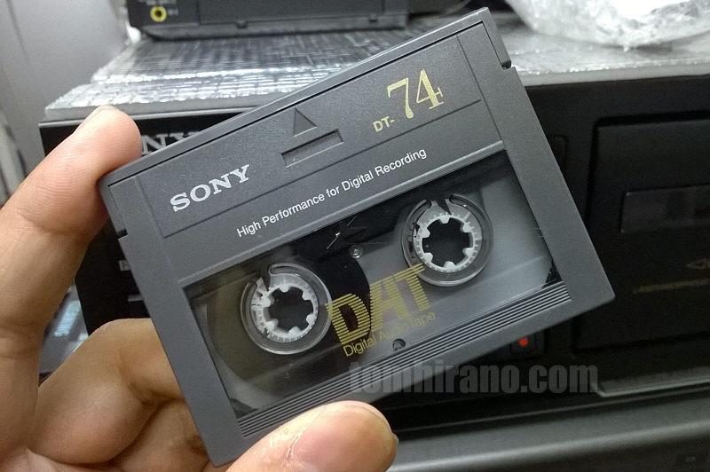 DATテープ発見 | トム平野スタイル