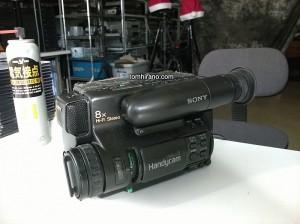 なつかしの8mmビデオカメラ