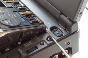 GV A700 ネジ位置