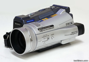 Sony DCR-IP220K microMV digital camera