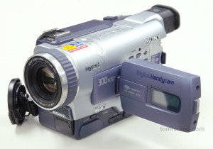 Sony DCR-TRV300K Digital 8mm video camera