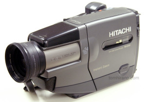 Hitachi VM-E54E 8mm video camera (PAL)