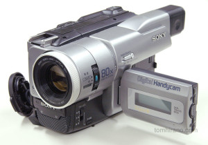 Sony DCR-TRV735K Digital 8mm video camera