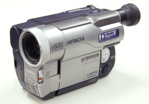 Hitachi VM-D865LA Digital 8mm camcorder