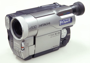 Hitachi VM-D965LE Digital 8mm camcorder (PAL)
