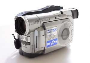 Hitach DZ-MV100 DVD video camera