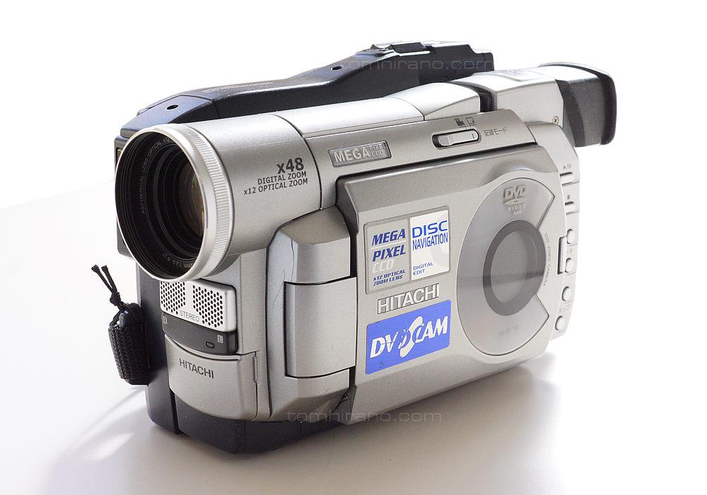 日立 DVDカメラ DZ-MV100