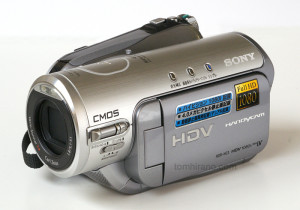 Sony HDR-HC3 HDV video camera