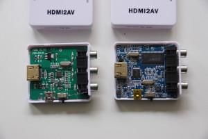 hdmi2avの内部比較