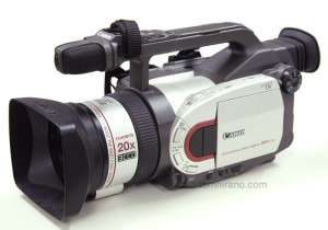 Canon DM-XV1 miniDV camcorder
