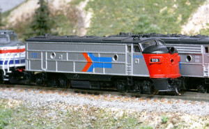 EMD FP-7 in Amtrak livery