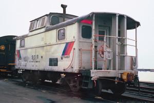 NJT MOW caboose 901R