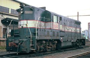 NJT GP7 5681