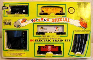 toysrus special train set