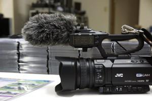 ビデオカメラ装着時