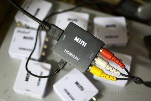 HDMI2AV テスト