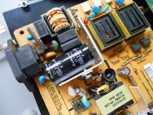 Fitted new capacitor