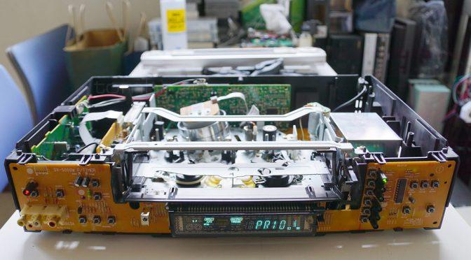 海外方式ビデオデッキ SV-5000W の修理 Part2