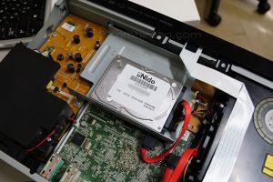 ハードディスク換装