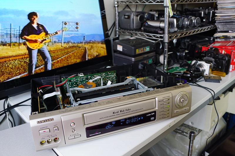PAL VHS 再生