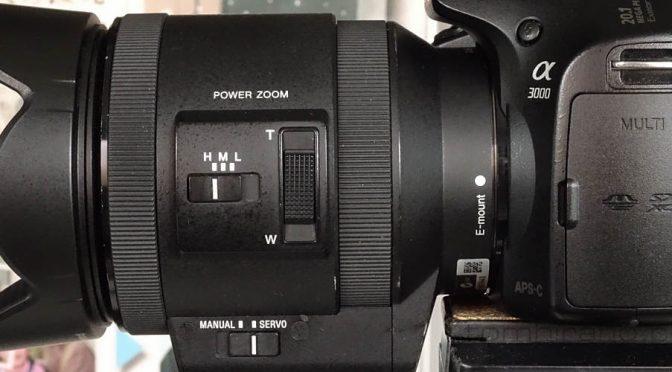 Sony E PZ 18-200 OSS SELP18200 パワーズーム使ってみた