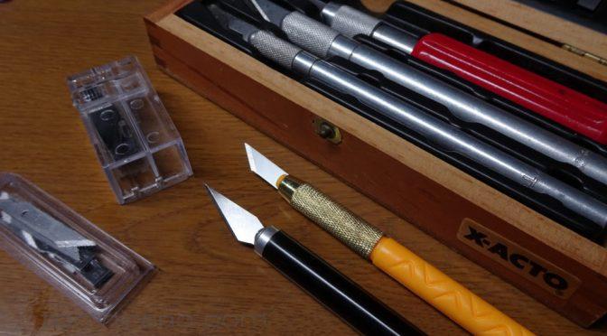 ダイソー デザインナイフ 115 & 替刃 116 買ってみた