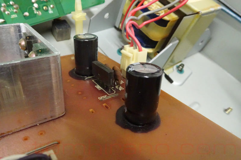 audio pcb capacitor