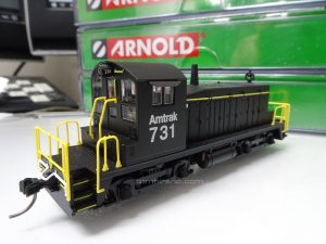 EMD SW1 Amtrak 731 N scale